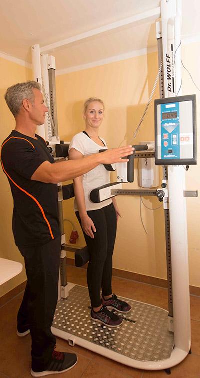 Rückenzentrum - Rücken Diagnostik im LT Sportclub